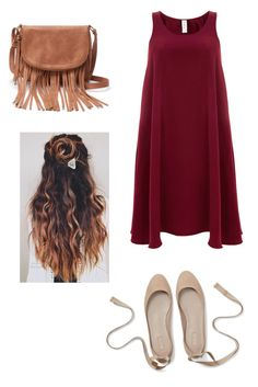 """""""Maroon"""" by rachelsong1848 on Polyvore featuring Finery London and Apt. 9"""