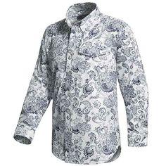 Roper Paisley Print Western Shirt - Long Sleeve (For Tall Men) - Save 55%