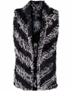 Marc Jacobs Rabbit Fur Vest. Almost got it... Check out the back, it's my favorite part.