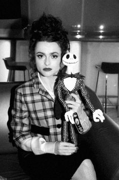 'Most of my relationships were people in the business. Having said that, me and Tim don't really talk that much about work. He comes into my bit of the house every so often to vent but we don't really have very high, cultured conversations.' - Helena Bonham Carter.