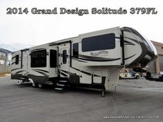 2014 #Grand #Design #Solitude 379FL Front living, Excellent #Decor.