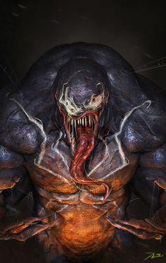 #Venom #Fan #Art. (Venom) By: Adnan Ali. ÅWESOMENESS!!! [THANK U 4 PINNING!!]