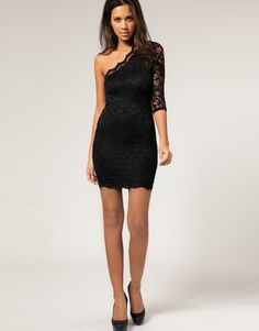 beautiful club dress. - Click image to find more Women's Fashion Pinterest pins