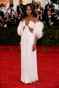 """#Naomi #Campbell attends The Metropolitan Museum of Art's Costume Institute benefit gala celebrating """"Charles James: Beyond Fashion"""" on Monday, May 5, 2014, in New York. (Photo by Charles Sykes/Invision/AP Photo) Check more at http://sweethearts101.com"""