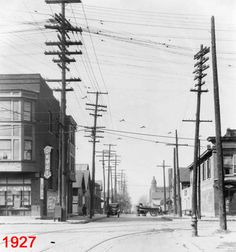 #Indianapolis Then and Now: Blake and W. New York Streets / IUPUI | @HistoricIndianapolis