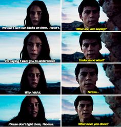 """""""What have you done?"""" #thescorchtrials Maze Runner Funny, Maze Runner The Scorch, Maze Runner Cast, Maze Runner Movie, Maze Runner Trilogy, Maze Runner Series, The Scorch Trials, Runners World, The Cure"""