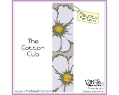 Peyote Bracelet Pattern: The Cotton Club  INSTANT DOWNLOAD