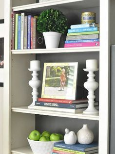 1000 images about decorating ideas bookcases and shelves on pinterest bookcases bookshelves - Adorable dollhouse bookshelves kids to decorate the room ...