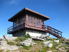 fire tower lookout adventure camping