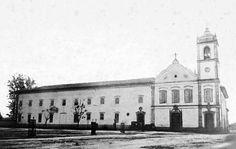 Sao Bento Monastery in 1862 - Sao Paulo, Brazil
