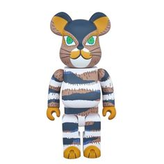 The Cat That Lived a Million Times 400% Bearbrick (Dec 2015) #sanoyoko #thecatthatlivedamilliontimes #bookart #medicom #medicomtoys #designertoy #cool #new #instacool #awesome #childrensbook #cat #ninelives #buddhist