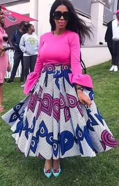 Hello Gorgeous, We are a sucker when it comes to fashion, and we do not shy away from beautiful Aso Ebi outfits. The revamped Aso Ebi outfits have come to give us a run for our money and we are no… African Print Skirt, African Print Dresses, African Dresses For Women, African Attire, African Wear, African Women, African Prints, African Outfits, African Style