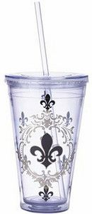 Fleur de Lis Cup!  Perfect for summer/water