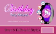 Hello Kitty -8 Pretend Toy Watches- Party Favors Kids Watch Birthday Pinata Cat