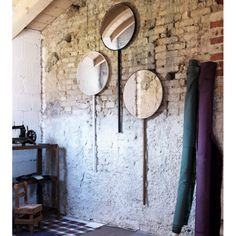 Buy online Retroviseur domestique By miniforms, wall-mounted round mirror design Ionna Vautrin House Of Mirrors, Wall Mirror With Shelf, Oversized Wall Mirrors, Mirror Gallery Wall, White Wall Mirrors, Lighted Wall Mirror, Rustic Wall Mirrors, Contemporary Wall Mirrors, Round Wall Mirror