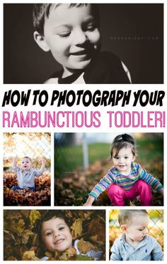 How to Photograph Your Rambunctious Toddler | eBay