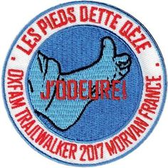 Oxfam trailwalker 2017 Morvan France Badge, France, In This Moment, Sports, Hs Sports, Excercise, Sport, Exercise, French