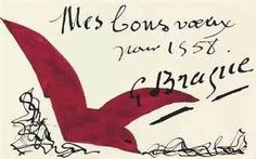 Braque post card