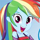MLPEG Miss Loyalty Rainbow Dash