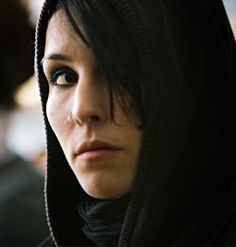 Lisbeth Salander (Noomi Rapace). What a badass female character she is! And smart too. The book is on my reading list.