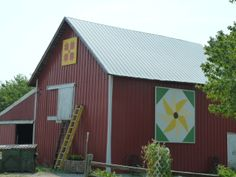 Black-eyed Susan, Plymouth, Indiana Barn Quilt Trail