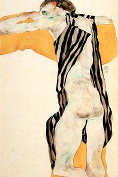 Egon Schiele (1890-1918гг) - Музей рисунка
