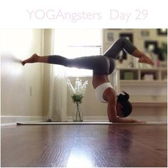 #yoga Great way to practice this balance