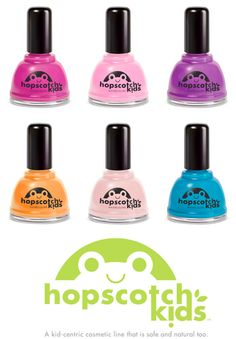 hopscotch non-toxic natural nail polish is the cutest baby girl gift!  found at frances vintage