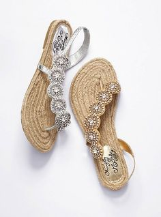Diverse Jeweled Espradrille Sandal from Victoria's Secret