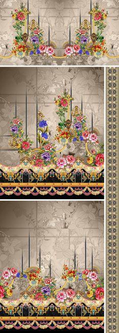 Textile Patterns, Textile Design, Textiles, Bright Paintings, Design Seeds, Album Design, Digital Prints, Layout, Search