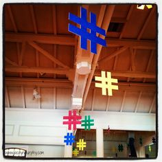 Love the hashtags to hang from ceiling 13th Birthday Parties, Birthday Fun, Birthday Party Themes, Birthday Emoji, Birthday Ideas, Instagram Birthday Party, Instagram Party, Prom Decor, Party Centerpieces