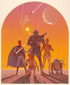 Primeiros Esboços: Pôster Original Ralph McQuarrie e os Storyboards de Star Wars