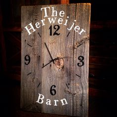 Best Photos Barn Wood clock Popular Handling reclaimed timber is very favorite regarding 60 seconds as well as two. Having a barnwood accentuate w. Rustic Wall Clocks, Unique Wall Clocks, Wood Clocks, Reclaimed Wood Shelves, Rustic Shelves, Reclaimed Barn Wood, Rustic Wood Decor, Rustic Walls, Wall Clock Gift
