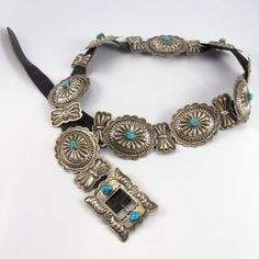 1970s Turquoise Concha Belt – Garland's Indian Jewelry