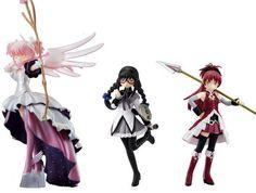 "Set of Puella Magi Magica Madoka Ultimate BANDAI Official Figure 5"" From JAPAN"