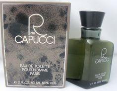 R De Capucci For Men by Roberto Capucci Eau De Toilette Splash oz Cuticle Care, Clary Sage, Bergamot, Male Beauty, Perfume Bottles, Fragrance, Carnation, Amalfi, Jasmine
