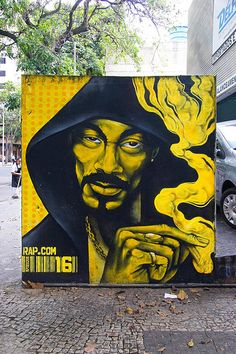 Graffiti Art Wall| Freedom Of Expression| Street Art| Serafini Amelia| Snoop Dog- Snoop Lion| #graffiti #street art