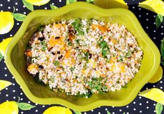 Israeli Tri-Color Couscous with preserved Meyer Lemon & Butternut ...