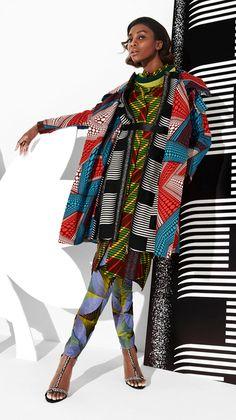 Fashion | Vlisco V-Inspired - Fantasia: the jacket!!!!