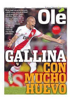 River Plate se queda con el primer encuentro por Octavos de Final de la Copa Libertadores. Sanchez anoto el único gol del partido, desde el punto penal.