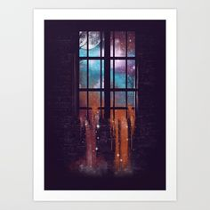 Buy Let the Stars Flow Into You V.2 Art Print by dandingeroz. Worldwide shipping available at Society6.com. Just one of millions of high quality products available.