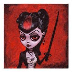 """Image of """"Senshi""""  Digital print $15"""