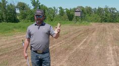 The first step to any successful food plot is a Soil Sample.