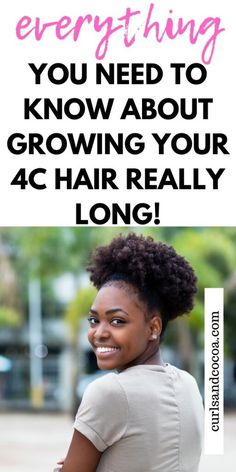 Natural Hair: How To Care For And Grow It LONG! 8 Simple tips to help you grow your natural hair long and healthy Natural Hair Shampoo, Natural Hair Regimen, How To Grow Natural Hair, Long Natural Hair, Natural Hair Care Tips, Natural Hair Growth, Natural Hair Journey, Natural Hair Styles, Long Hair Styles