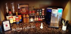 Another coffee bar idea