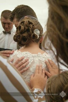 How sweet! Who wouldn't want their church family to gather around and pray that God have his way in their marriage? :)