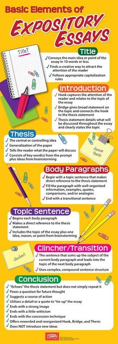 Basic Elements of Expository Essays Skinny Poster