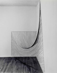 Dianne Romaine, Sabine Reckwell. String + nails. Simple.  Beautiful.