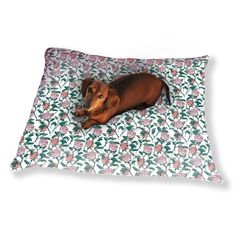Shop For In The English Rose Garden Dog Pillow Luxury Dog / Cat Pet Bed.  Get Free Delivery At   Your Online Pet Beds Store! Get In Rewards With Club  O!