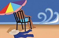 Free Beach Illustration